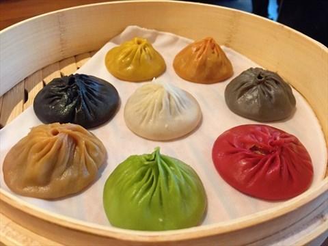 【新加坡樂天皇朝】八色小籠包,有沒有這麼厲害?