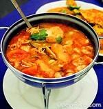 鮮蝦草菇檸檬湯