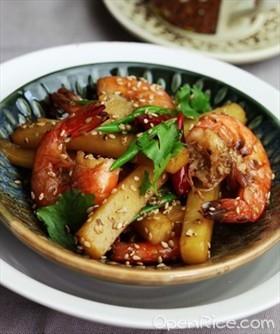 芝香馬鈴薯蝦