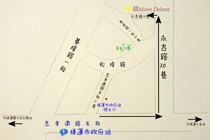 (手绘地图