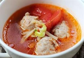 番茄肉丸湯