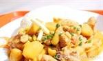 馬鈴薯燜雞塊