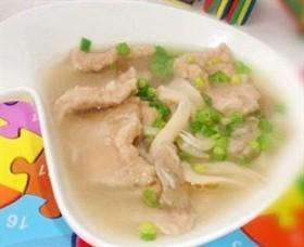 豬肉蘑菇湯