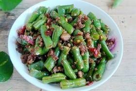 肉末剁椒四季豆