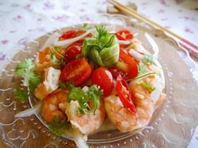 泰式鮮蝦沙拉