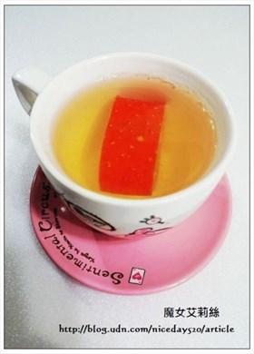 護眼料理|木鱉果皮煎茶~有著朝鮮人參的皂苷香