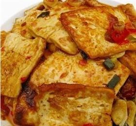 魚香煎豆腐