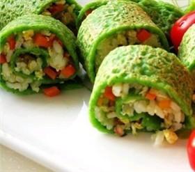 五彩蔬菜捲