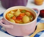 蔬菜義麵濃湯