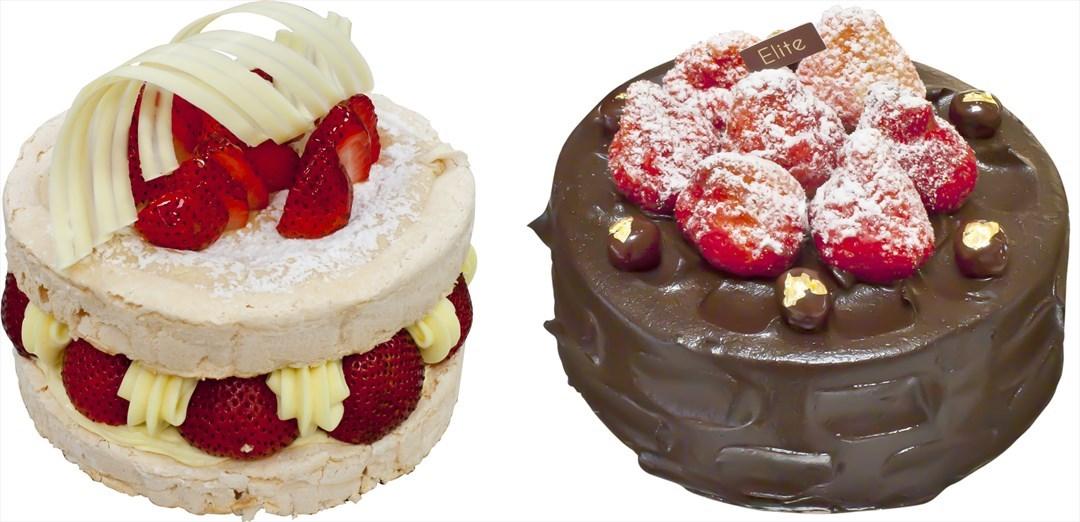 法式草莓樞機卿 & 經典黑櫻桃巧克力蛋糕