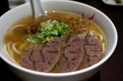 滿漢牛肉麵(細 NT$220)