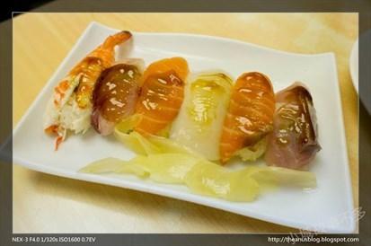 綜合生魚壽司