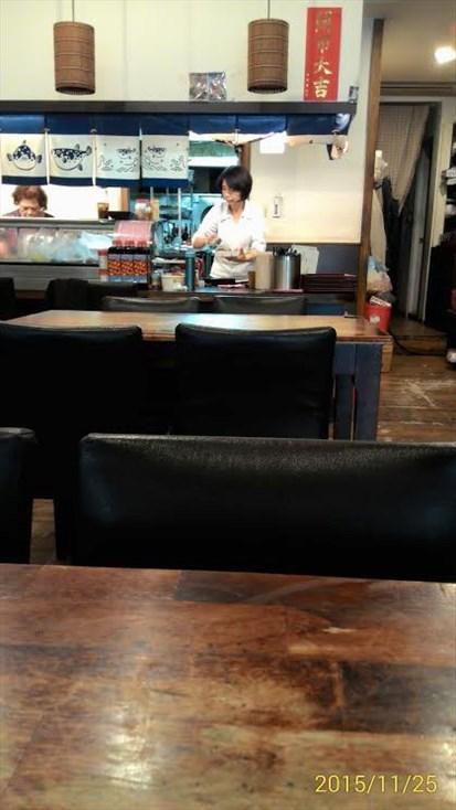 老闆娘其實長得也很像日本人