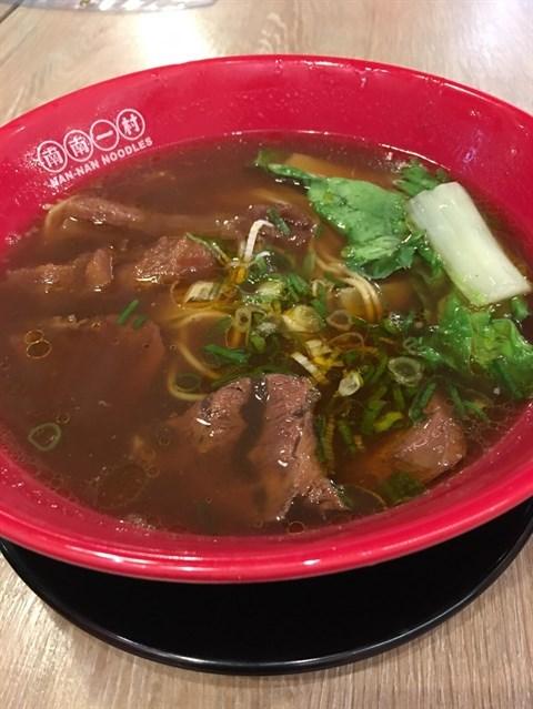 牛肉麪,我連湯都飲完,太好味了👍