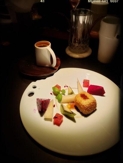 黑糖魚子醬法式多士