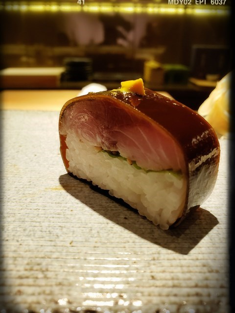 昆布鯖魚壽司