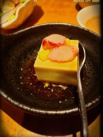 和風蘆筍豆腐